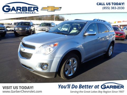 Pre-Owned 2015 Chevrolet Equinox LTZ FWD SUV